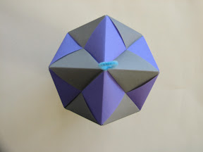 Octahedral assembly from Sonobe units.