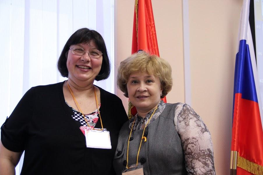 Елена Галанжина и Ольга Брыксина