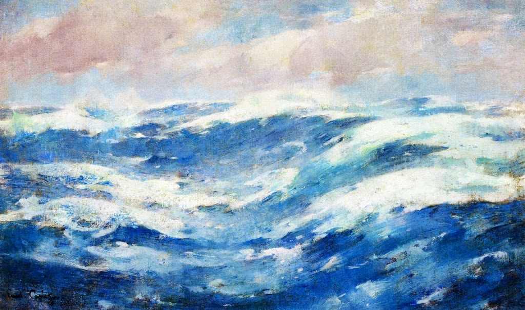 Emil Carlsen - Breaking Waves