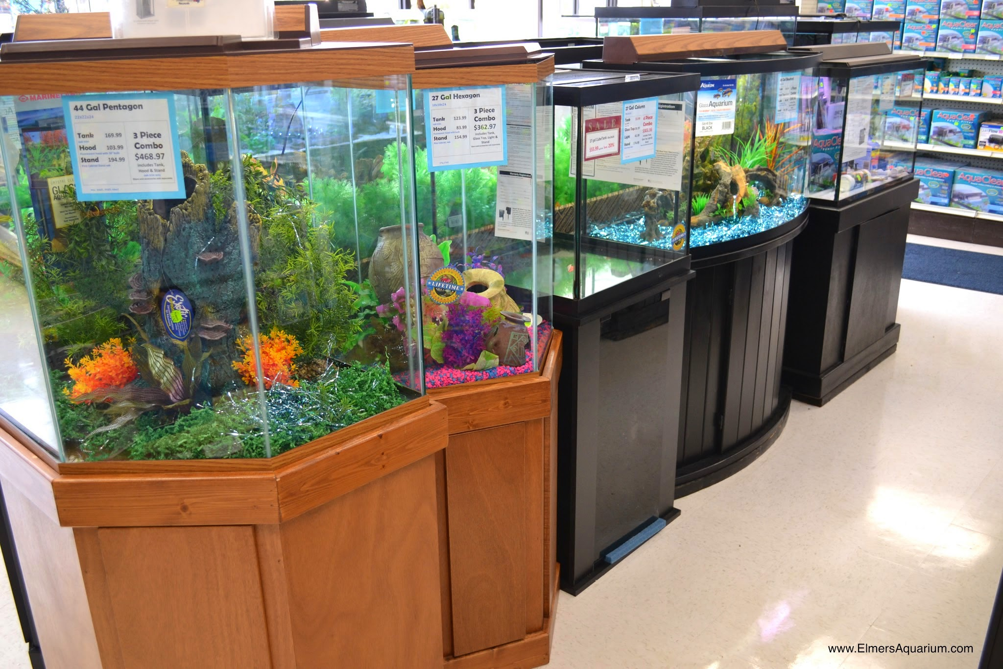 27 Gallon Hexagon Aquarium Hood 1000 Ideas
