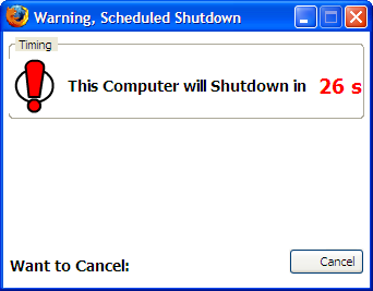 Auto Shutdown - InBasic