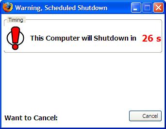 Auto Shutdown - InBasic