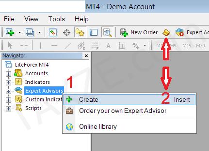 วิธีติดตั้ง Expert Advisor (EA)