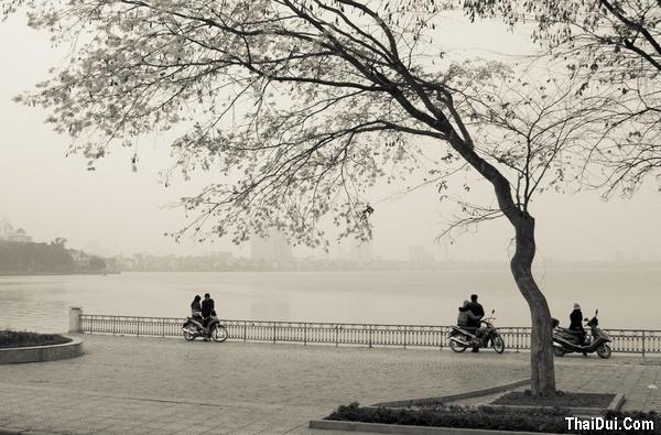 thơ tình buồn mùa đông Hà Nội