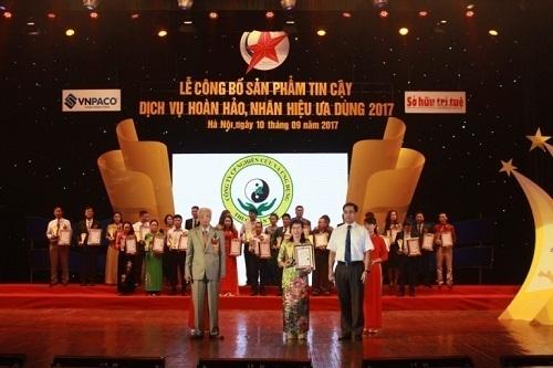 Trung tâm được trao tặng nhiều giải thưởng danh giá