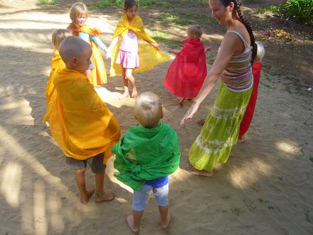 вальдорфский детсткий сад в Гоа