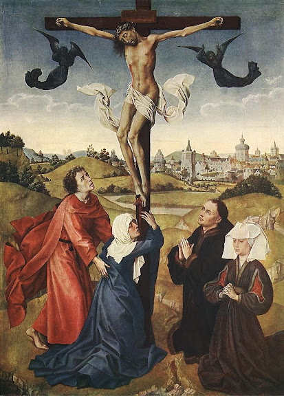 Rogier van der Weyden - Crucifixion Triptych (central panel)