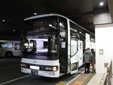 いわさきバスネットワーク「桜島号」 ・120 西鉄天神BC到着