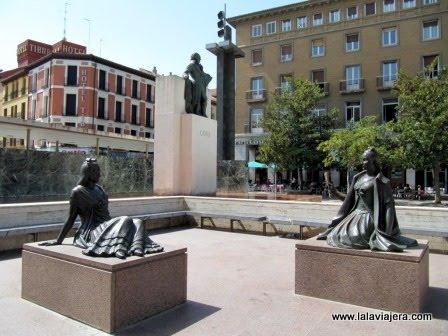 Monumento a Francisco de Goya, Zaragoza