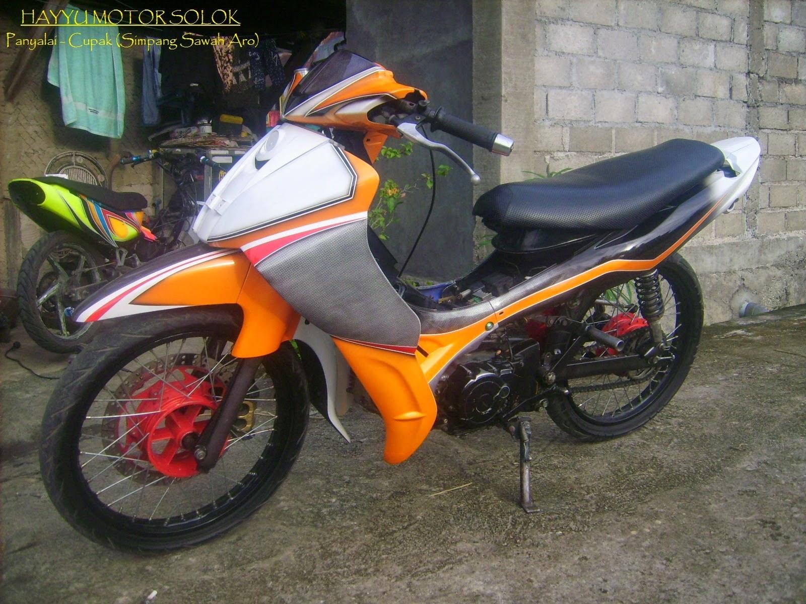 Modifikasi Sederhana Yamaha Vega Zr