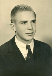 Me's Sonora High Graduation photo, 1934