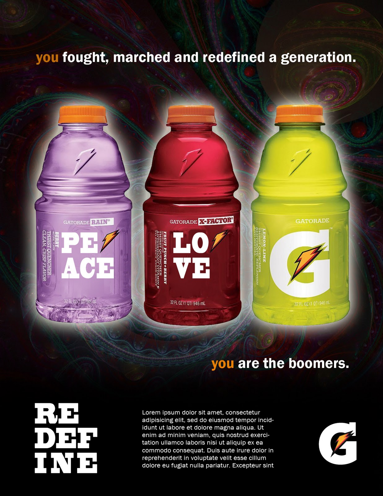 gatorade demographic