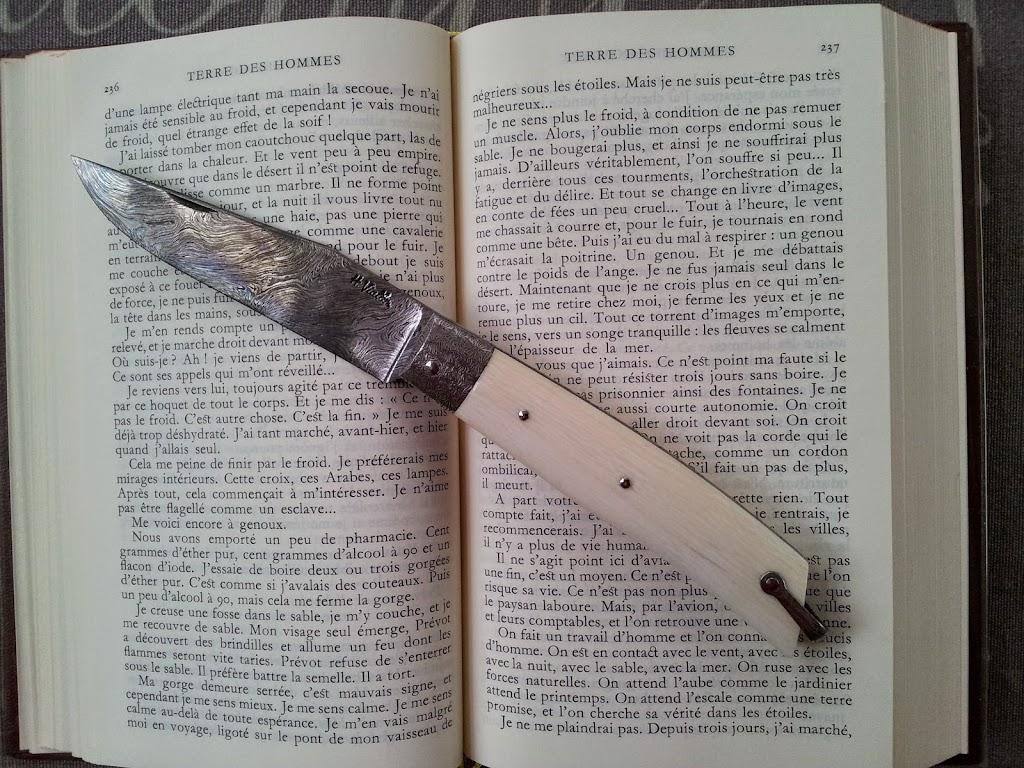 couteaux ivoire