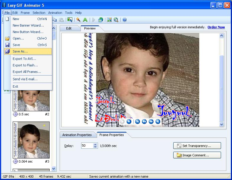 Easy GIF Animator 5.1 Pro Full - Phần mềm làm ảnh động - Image 12