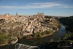 Panorámica de Toledo desde los cigarrales