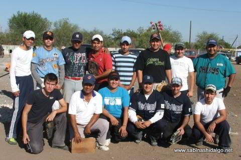 Equipo Normal del torneo de softbol del Club Sertoma