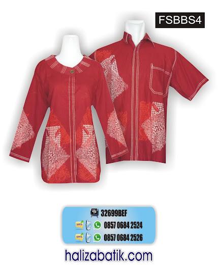 baju batik atasan, batik couple murah, mode baju batik