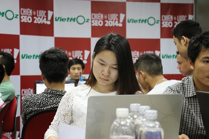 Hình ảnh chị Hải Yến trong lớp học Facebook Marketing