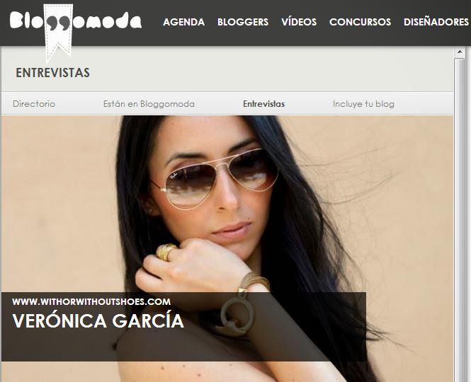 Entrevista para Bloggomoda - Blog Moda Tendencias