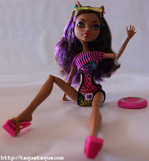 mi Clawdeen Gloom Beach