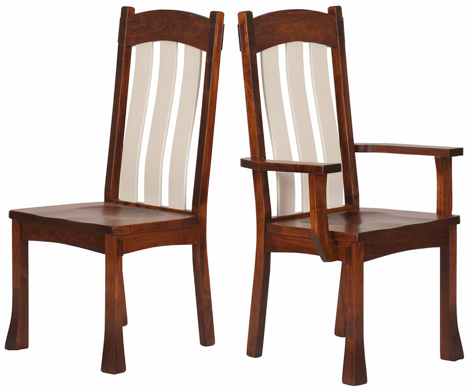 Seville Chair In Colonial And Serene Maple ...