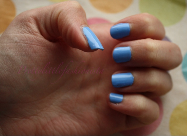Barry M Gelly Hi Shine in Blueberry