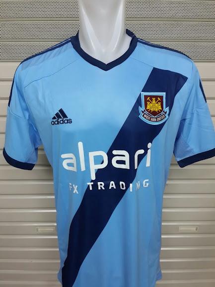 Jersey West Ham Away Terbaru 2014-2015