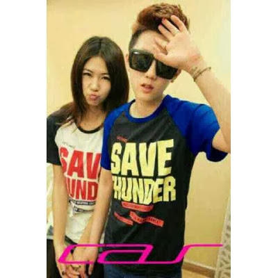 Kaos Couple Murah Save Thunder