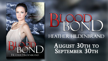 Tour: Guest Post & Giveaway: Blood Bond by Heather Hildenbrand