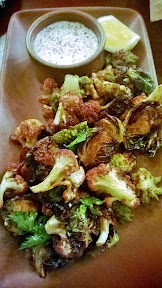 Ava Gene's Fritti with cauliflower, brussels sprouts, lemon, chiles, tonnato