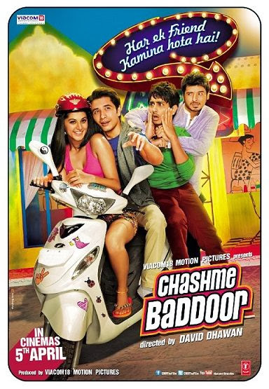 Cover of Chashme Baddoor (2013) Full Hindi Movie Video Songs Free Download Watch Online at Alldownloads4u.Com