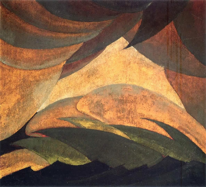 Arthur Dove - Golden Storm