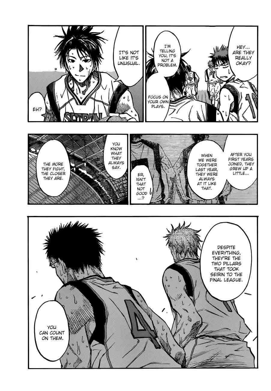 Kuroko no Basket Manga Chapter 194 - Image 09
