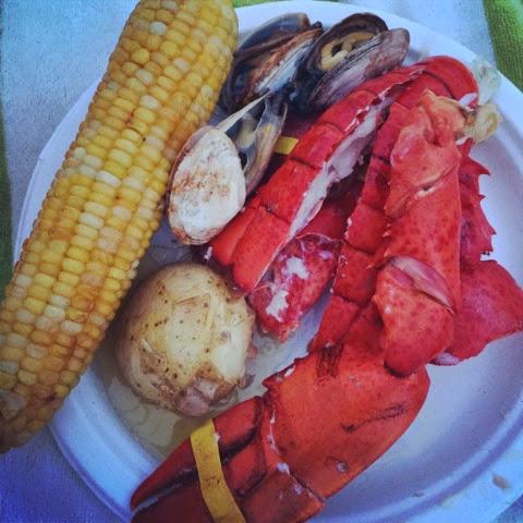 lobsterbake clambake food