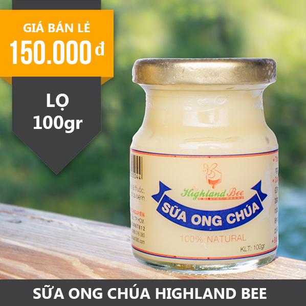 Sữa Ong Chúa tươi HIGHLAND BEE 100gr