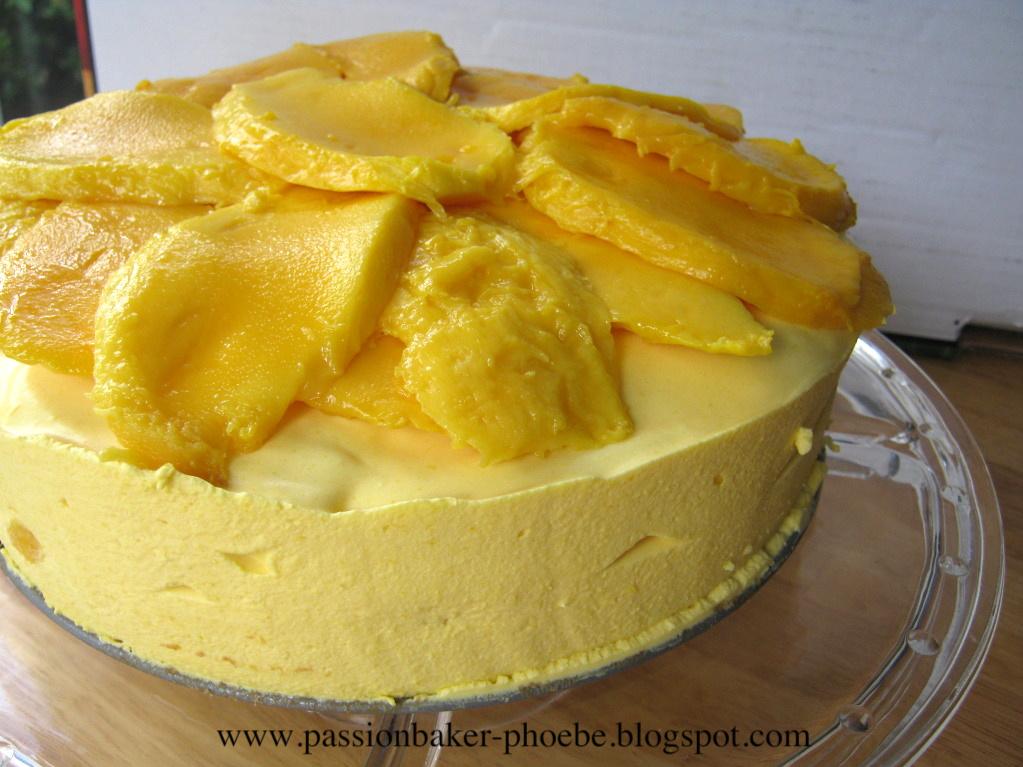 Gt Mango Mousse Cake 芒果慕絲蛋糕 Passion Baker