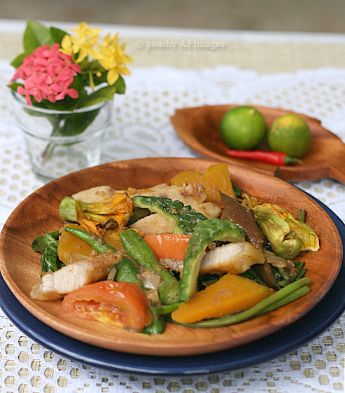 Pinakbet Filipino Vegetable Stew The Peach Kitchen