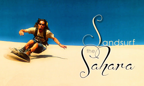 Sandsurf the Sahara