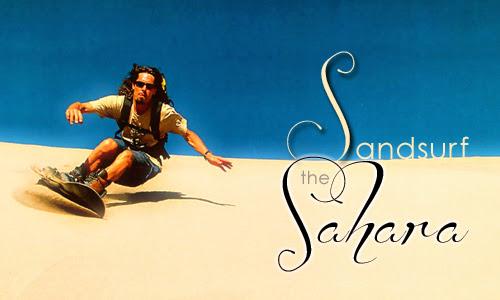 Sandsurf the Sahara