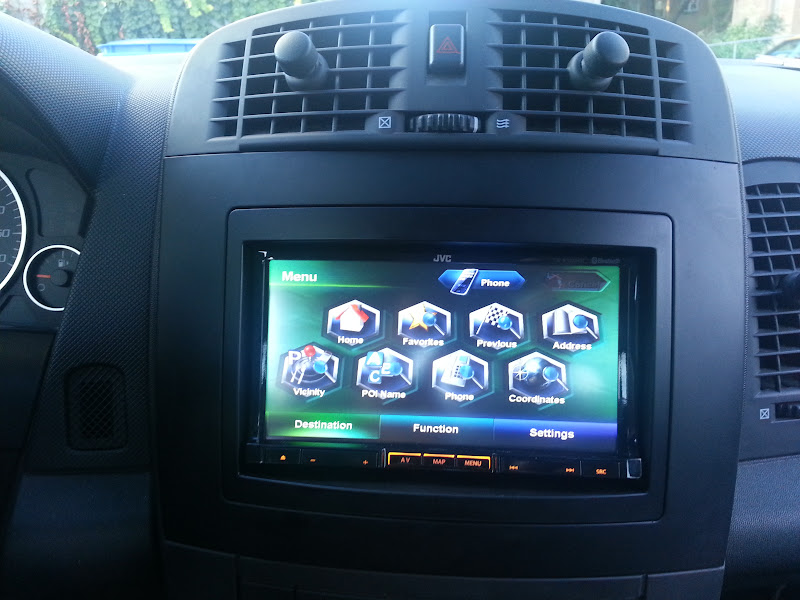 New Head Unit Installed