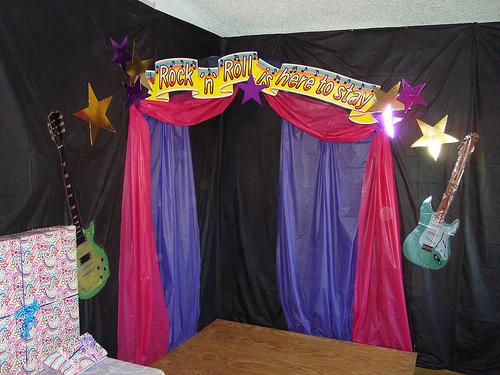 Decoracion Karaoke Party ~ Dentro de los adornos claves para La Celebraci?n de una fiesta con