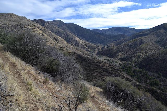 Manzana Creek continuing up