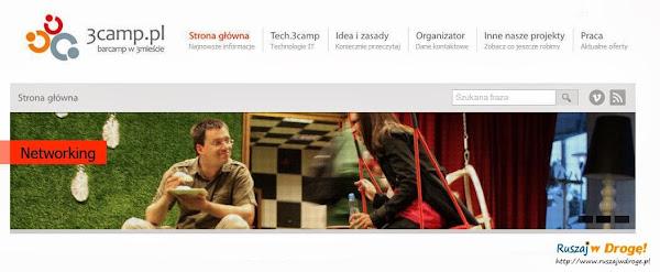 Ruszaj w Drogę na głównej stronie spotkań 3camp