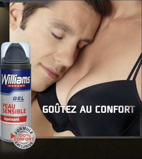 Crème de rasage Williams Left