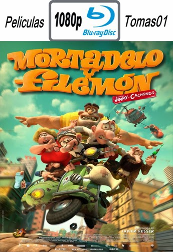 Mortadelo y Filemón contra Jimmy el Cachondo (2014) BDRip m1080p