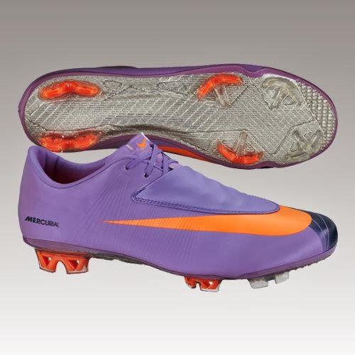 e0702ff780f7 Nike Mercurial Vapor VI FG Mens Soccer Cleats [396125-584] Violet Pop/Total  Orange-Dark Obsidian Mens Shoes 396125-584-12