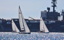 J/105s sailing Masters Regatta in San Diego
