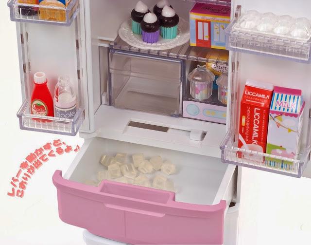 Tủ lạnh dành cho Licca
