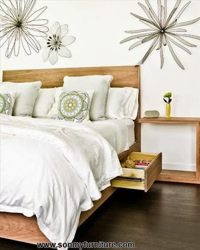 """Cách """"giấu đồ"""" trong phòng ngủ nhỏ-2"""
