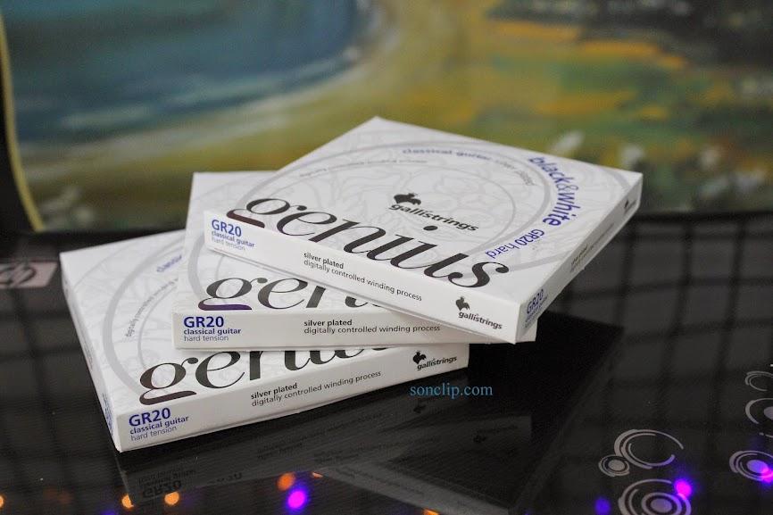 Dây Đàn Guitar Classic - Galli GR20 Black & White